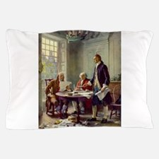 Declaration of Independence 1776 Pillow Case