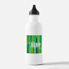 Hemp Lines Water Bottle