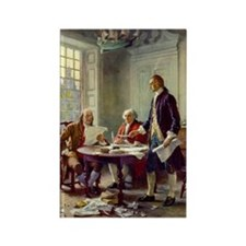 Declaration of Independence 1776 Rectangle Magnet