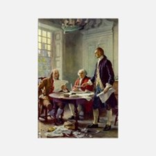 Declaration of Independence 1776 Rectangle Magnet