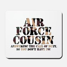 AF Cousin Answering Call Mousepad