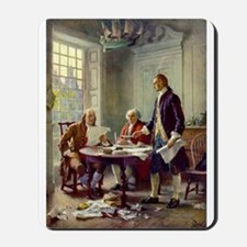 Declaration of Independence 1776 Mousepad