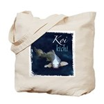 White Koi Tote Bag