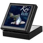 White Koi Keepsake Box