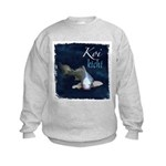 White Koi Kids Sweatshirt