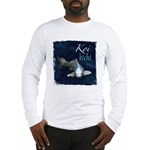 White Koi Long Sleeve T-Shirt