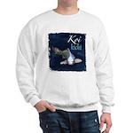 White Koi Sweatshirt