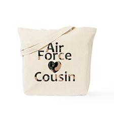 AF Cousin Camo Heart Tote Bag