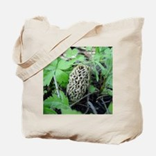 Yellow Morel Mushroom Tote Bag