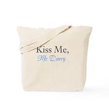Kiss Me, Mr. Darcy Tote Bag