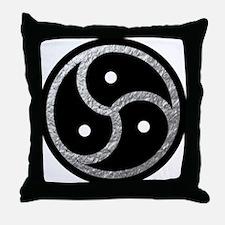BDSM EMBLEM - Symbol Throw Pillow