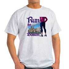 Run for Boston, MA T-Shirt