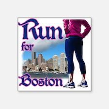 Run for Boston, MA Sticker