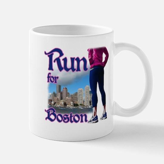 Run for Boston, MA Mug