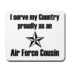 AF Cousin Serve Country Mousepad