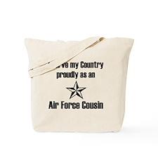 AF Cousin Serve Country Tote Bag