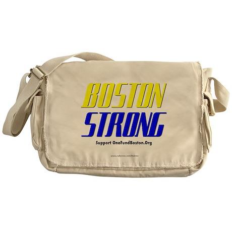 """Stay Strong Boston"" Messenger Bag"