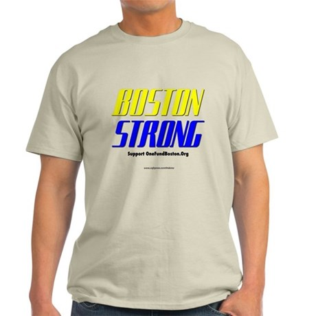 """Stay Strong Boston"" Light T-Shirt"