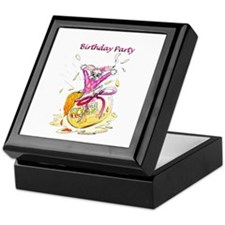 Honey Bunny Birthday Party Keepsake Box