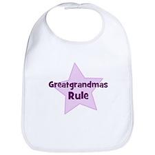 Greatgrandmas Rule Bib