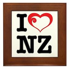 I love NZ Framed Tile