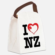 I love NZ Canvas Lunch Bag