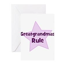 Greatgrandmas Rule Greeting Cards (Pk of 10)