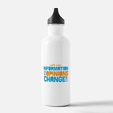 My Opinions Change Water Bottle