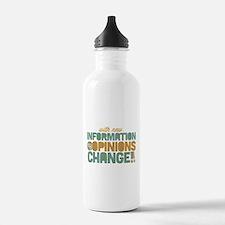 Grunge Opinions Change Water Bottle