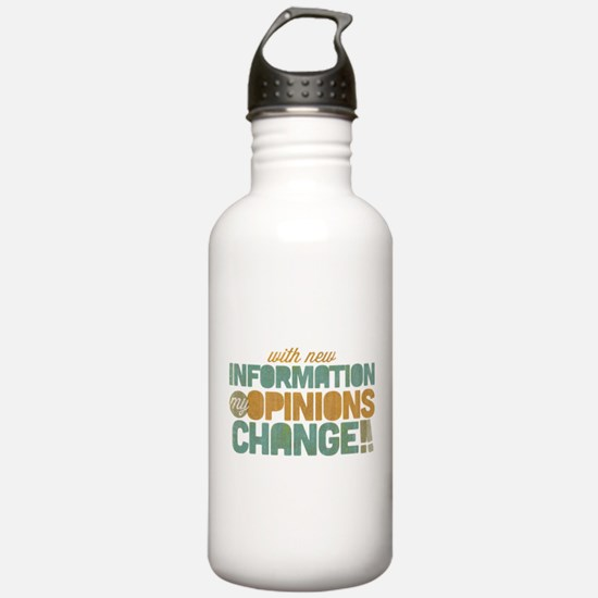 Grunge Opinions Change Water Bottle