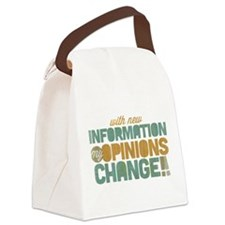 Grunge Opinions Change Canvas Lunch Bag