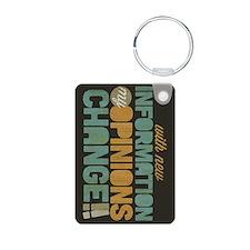 Grunge Opinions Change Keychains