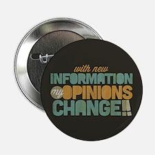 "Grunge Opinions Change 2.25"" Button"