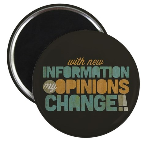 Grunge Opinions Change Magnet