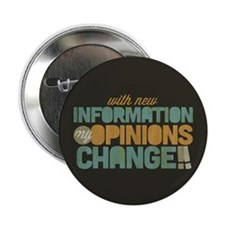 """Grunge Opinions Change 2.25"""" Button (10 pack)"""