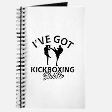 I've got Kickboxing skills Journal