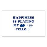 Cello sticker 10 Pack