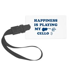 Cello Vector Designs Luggage Tag