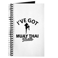 I've got Muay Thai skills Journal