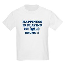 Drums Vector Designs T-Shirt
