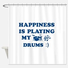 Drums Vector Designs Shower Curtain