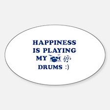Drums Vector Designs Decal