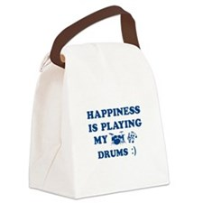 Drums Vector Designs Canvas Lunch Bag
