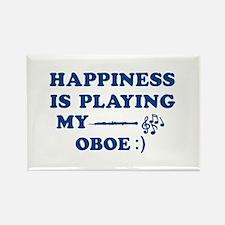 Oboe Vector Designs Rectangle Magnet