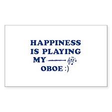 Oboe Vector Designs Decal