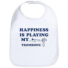 Trombone Vector Designs Bib
