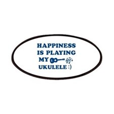 Ukulele Vector Designs Patches