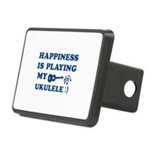 Ukulele Vector Designs Hitch Cover