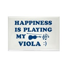 Viola Vector Designs Rectangle Magnet
