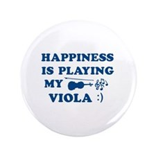 "Viola Vector Designs 3.5"" Button"